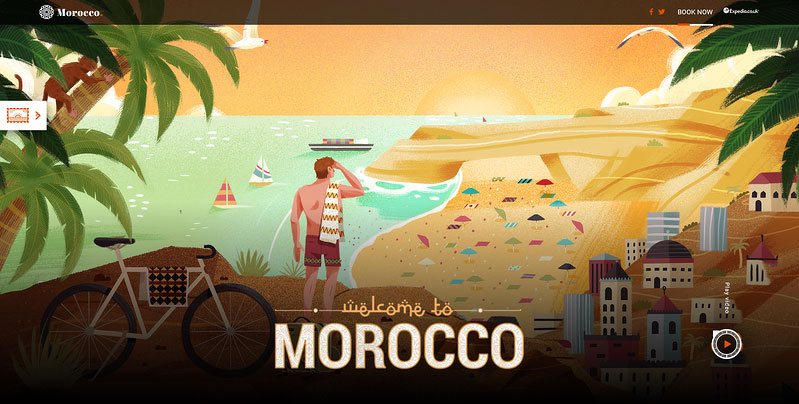 Moments in Morocco microsite