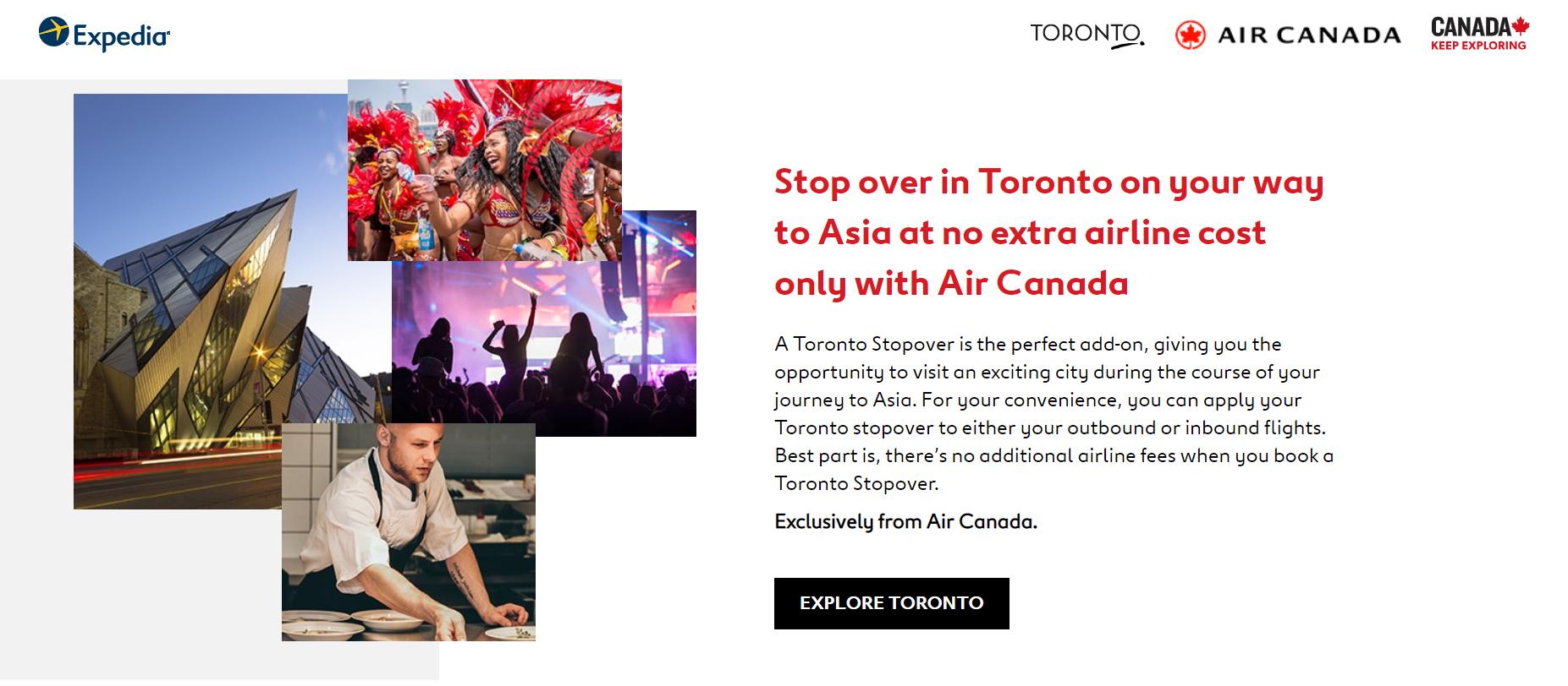 Toronto Stopover screenshot Explore Toronto