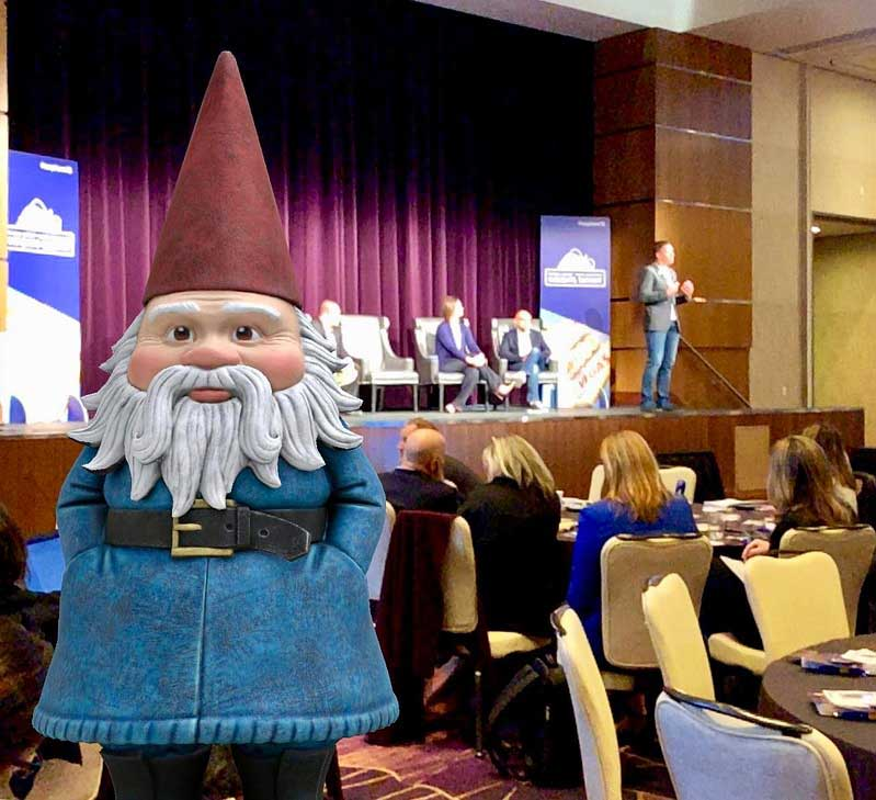 roaming gnome at explore'18
