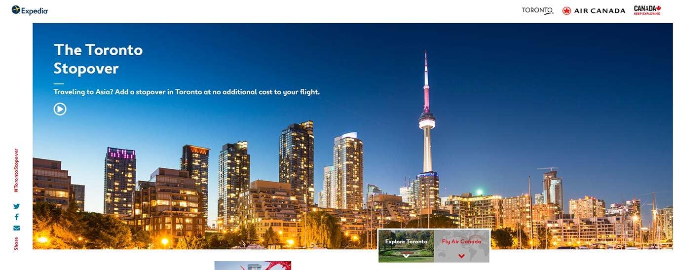 Toronto Stopover screenshot